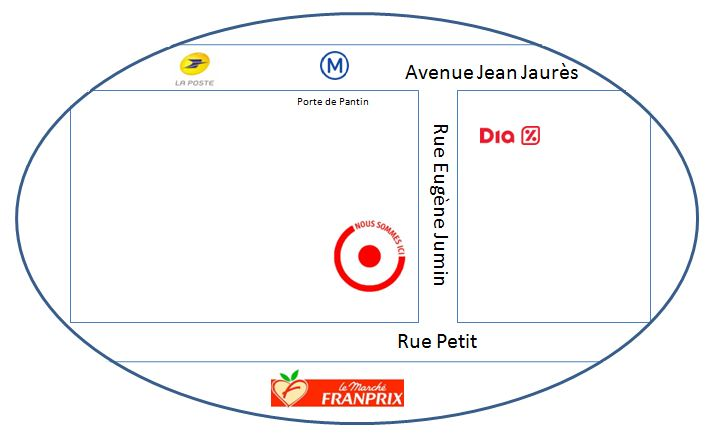 Plan d'acces version capture ecran